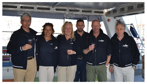 The Volvo Penta Team